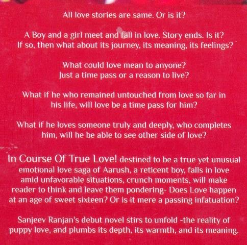 In Course Of True Love! - In Course Of True Love! - Sanjeev