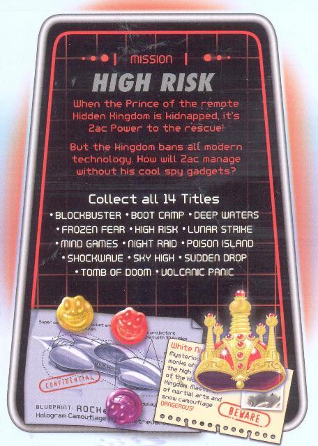 zac power high risk larry h i